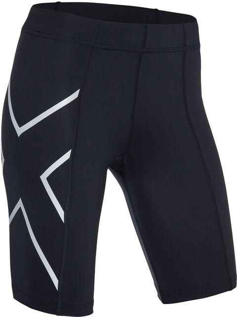2XU Compression - Pantalones cortos running Mujer - negro